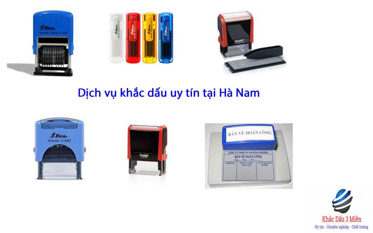 Dịch vụ khắc dấu uy tín tại Hà Nam