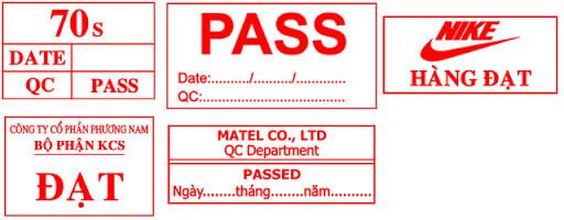 Mẫu dấu qc-pass theo yêu cầu
