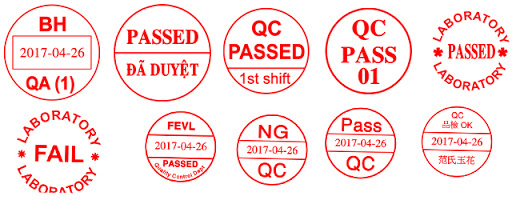 Mẫu con dấu qc-pass